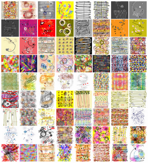 drawingaday project iPhone drawings by Stella Untalan