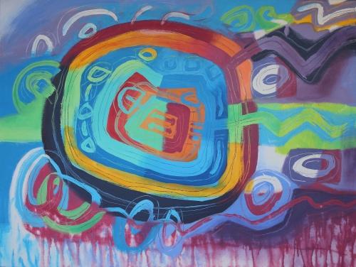 Gaiamama VII, by Jacqueline Unanue