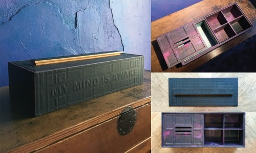 Printing Decorative Papers + Box Art with PD Packard