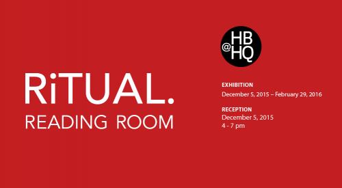 Ritual Reading Room @HBHQ