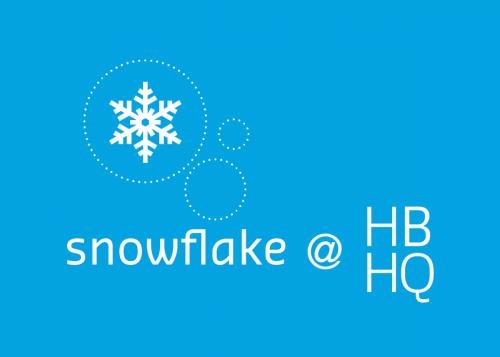 Snowflake at HBHQ graphic
