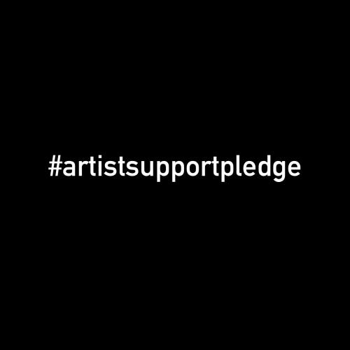 #artistsupportpledge #artistsupportpledgeusa  black box #covid19