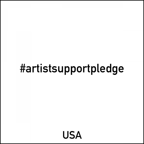 #artistsupportpledge #artistsupportpledgeusa  black type #covid19