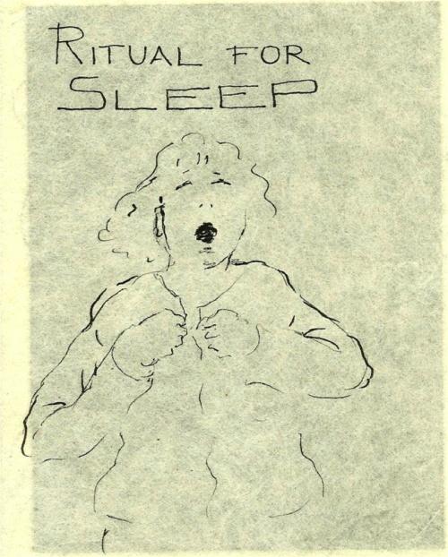Line drawing, sleep,