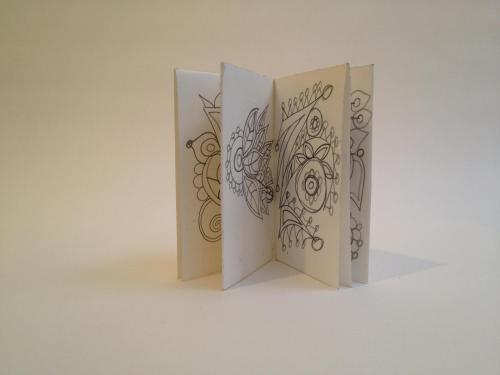 Abstract Book #1 by Queen Nancy Bell