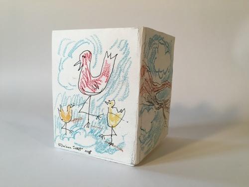 bird art, Barbara Schaff