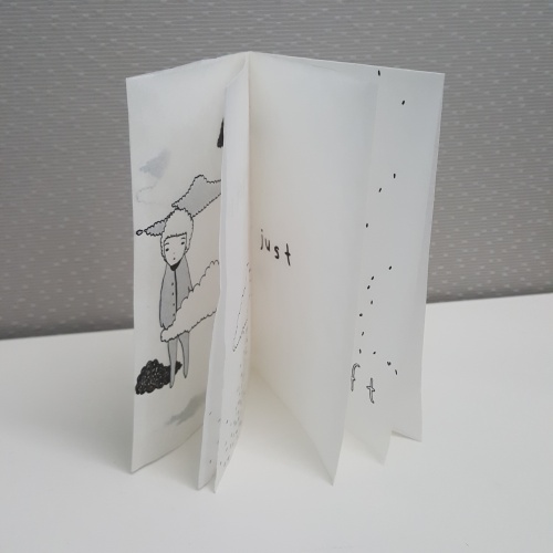 drift by Taylor Tai, RiTUAL single-sheet book show