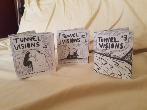 Tunnel Visions #1, #2 and #3 by Jay Imbrie