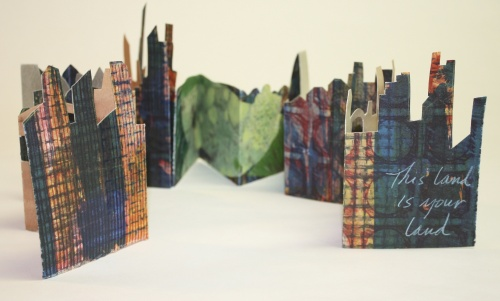 This Land is Your Land, artist's book by Lesley Mitchell