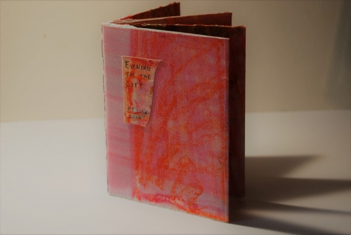 Cover of silkscreen monotype book