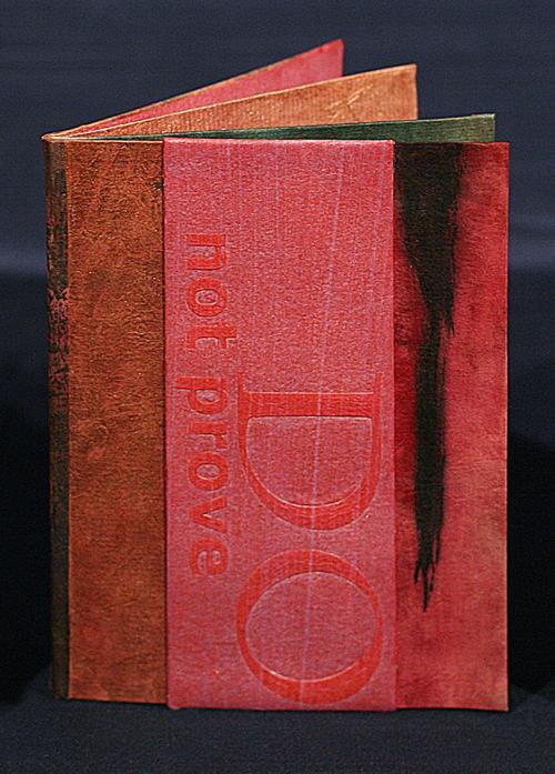 PD Packard's Disprove The Dream, RiTUAL: single-sheet book show