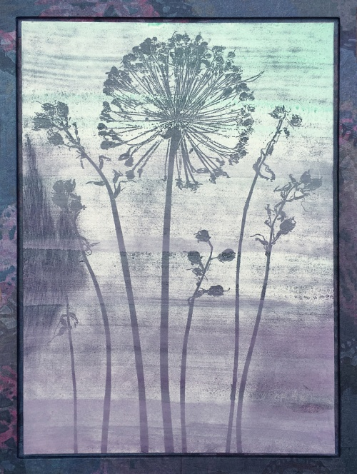 dr seuss' wild onion flower   in color