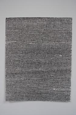 Image of a black drawing by Ruth Scott Blackson