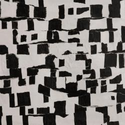 "Tom Hlas : Proximity 2 Acrylic on Paper : Image Size: 12"" x 12"" : Frame Size: 20"