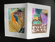 Four Cats by Martha Knox