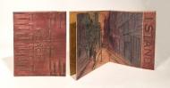 A Sense of Place single sheet book art from RiTUAL Book Show