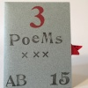 Agustin Bolanos,  3 Poems sleeve