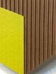 cardboard & acrylic paint on gatorboard  from artepovera series