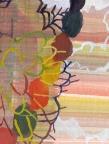 """Josette Urso, Windy Hill, watercolor on paper, 13"""" x 12.5"""""""