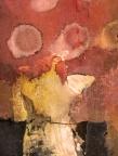 abstract, torso, mixed media