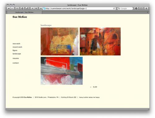 gallery view - Sue McKee