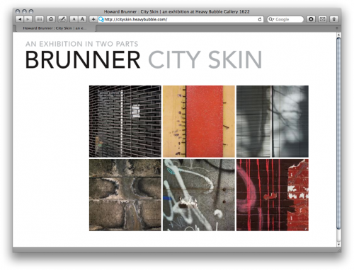 Howard Brunner, artist, City Skin
