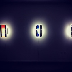 Robert McNellis, Mixed Media: Plastics, Lights, Metal, Photographs